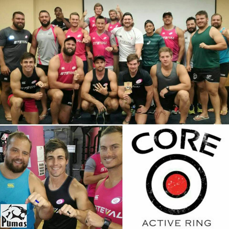 Core silicone rings_Pumas rugby team